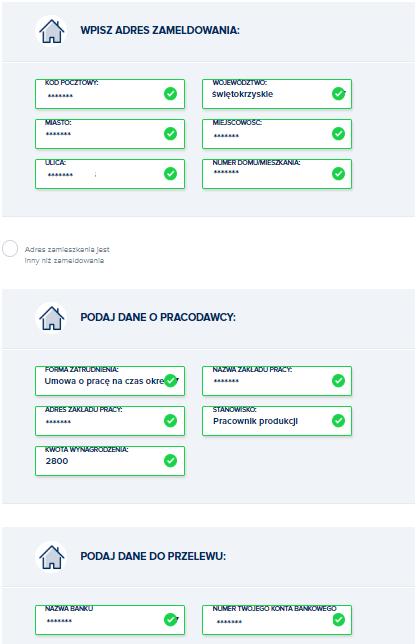 wonga wniosek o pożyczkę trzeci krok