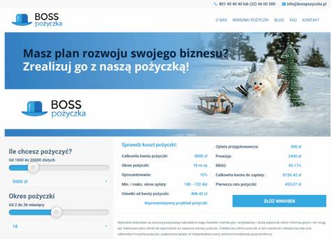 Boss Pożyczka